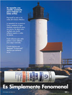 Spanish Lighthouse Ad